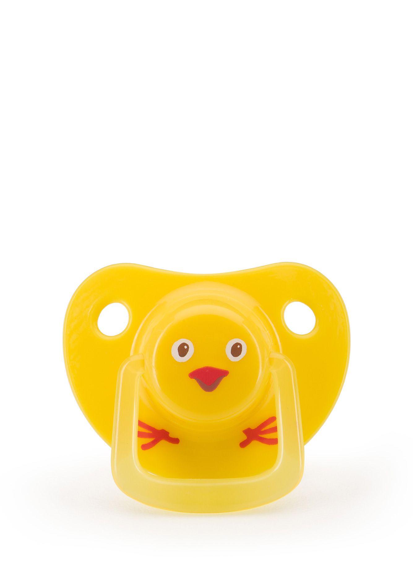 Пустышка Happy Baby 13019 желтый