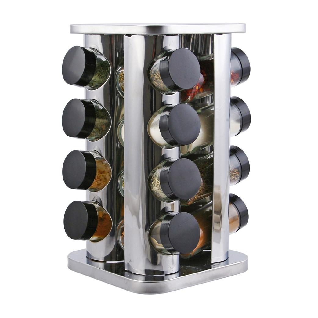 Набор для специй Migliore Для 12 наборов специй, серый металлик