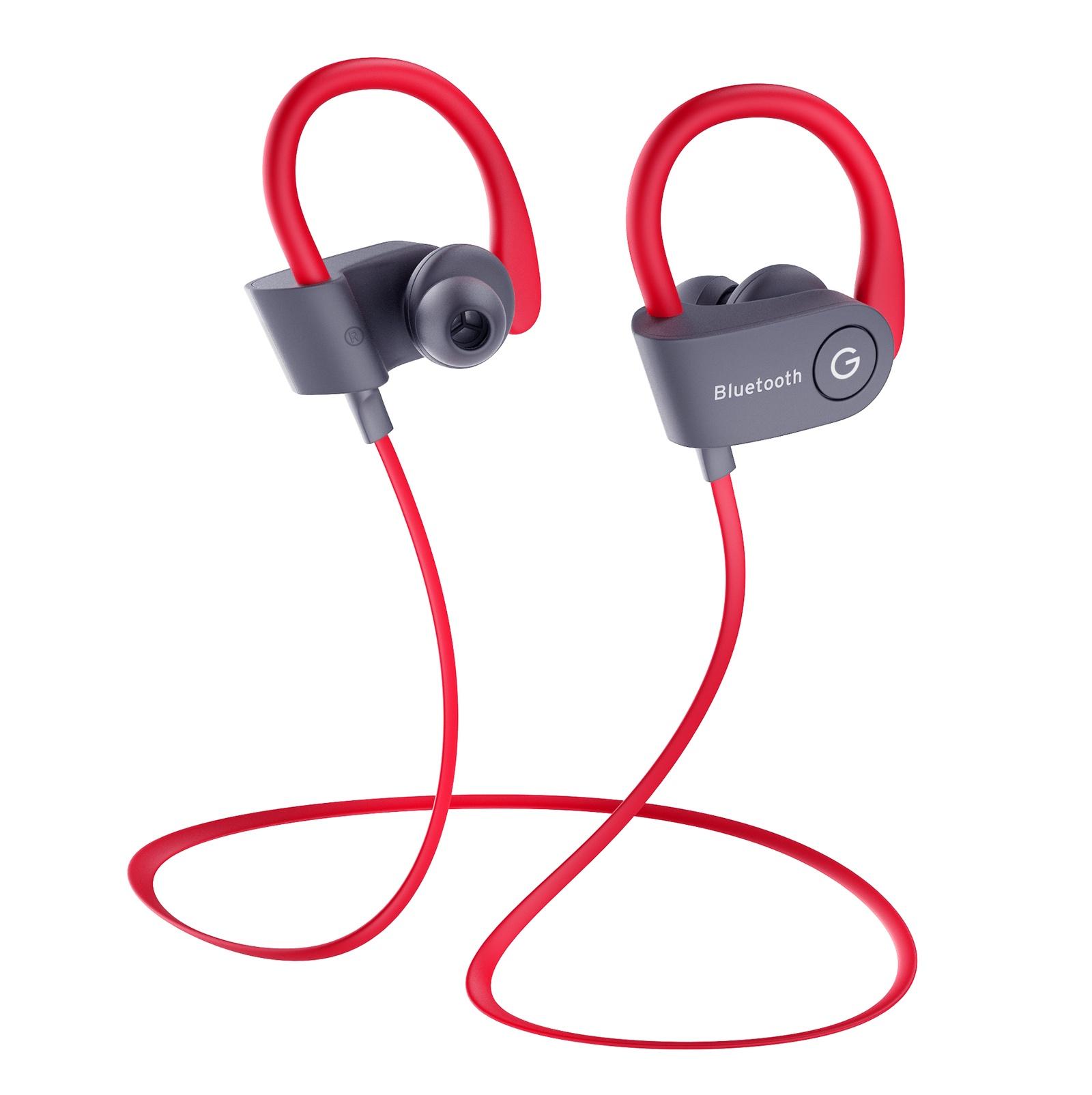 Наушники Bluetooth беспроводные с микрофоном GAL BH-2008GR