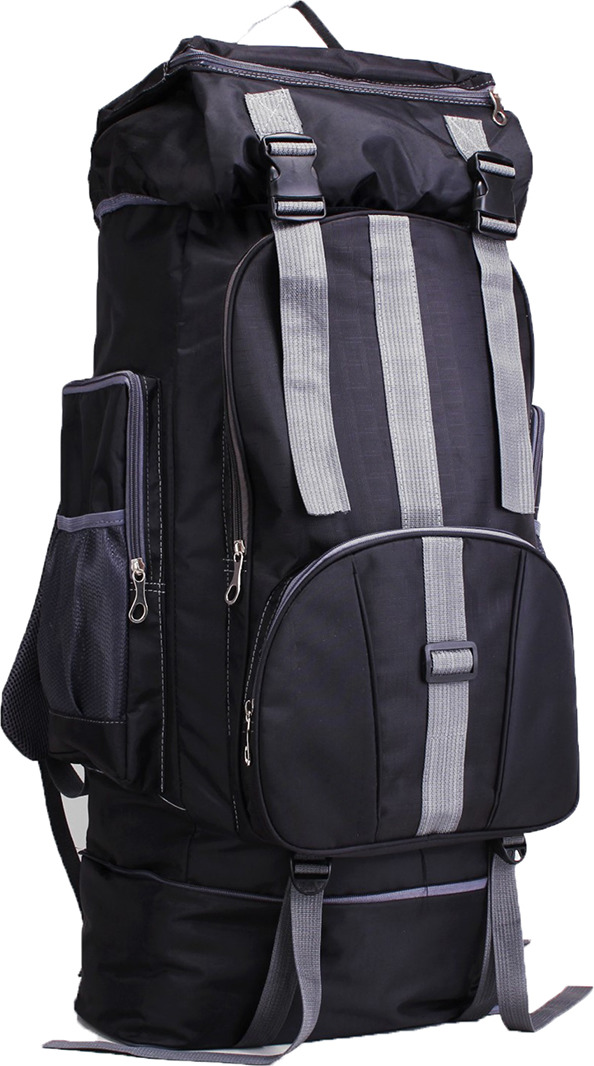 Рюкзак туристический Тур, 3000809, черный рюкзак нова тур