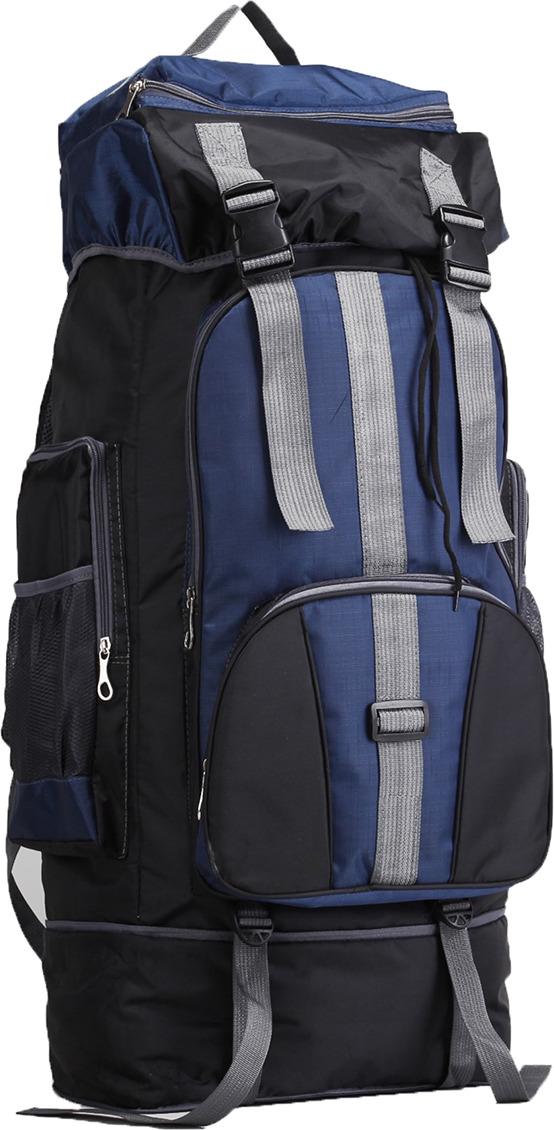 Рюкзак туристический Тур, 3000810, черный, синий рюкзак нова тур