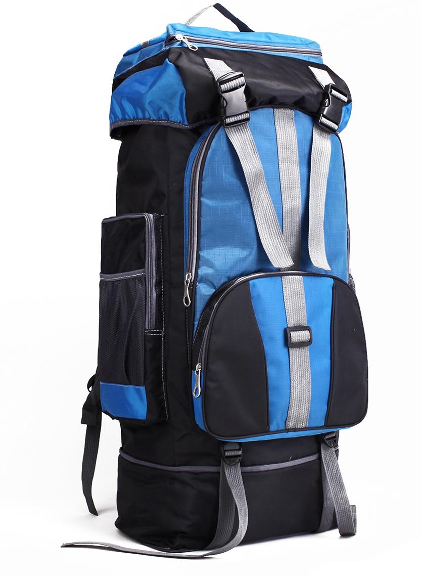 Рюкзак туристический Тур, 3000811, черный, ярко-синий