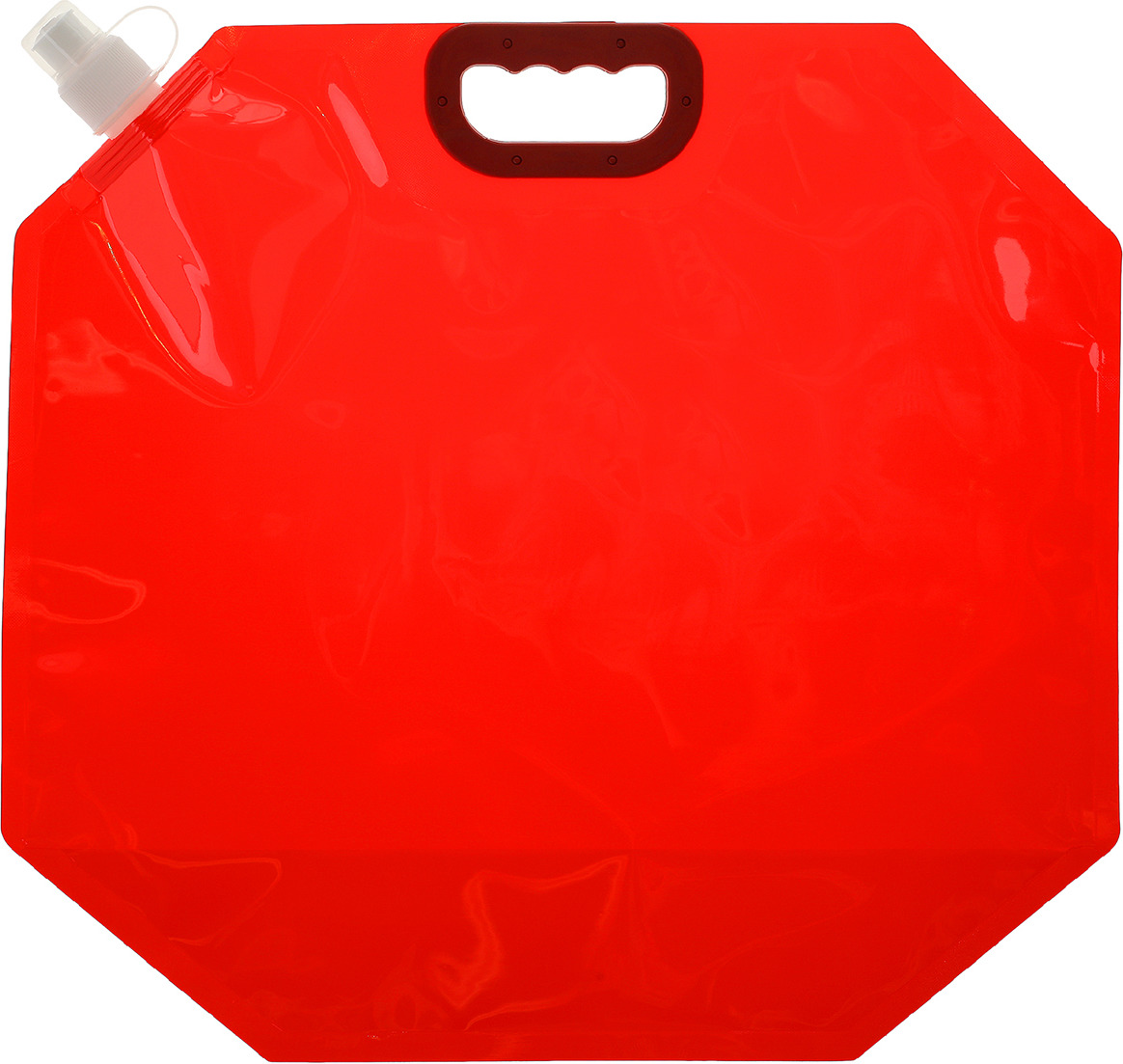 Канистра туристическая, 3584846, красный, 10 л