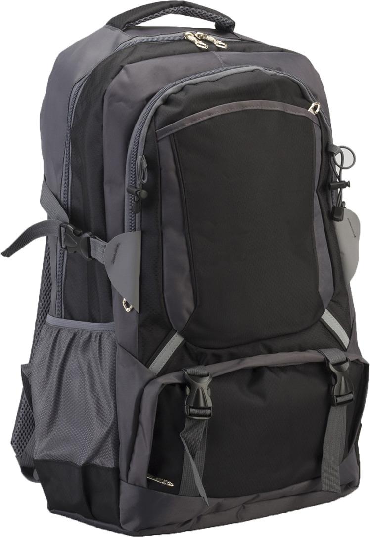Рюкзак туристический Лесник, 3727205, серый, черный