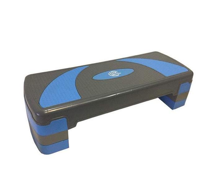 Степ платформа Lite Weights 1810LW (79,5*30*20см, серый/голубой) Lite Weights