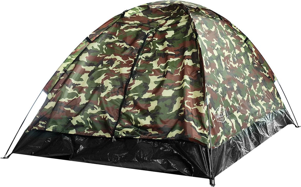 Палатка Maclay Sande II, 2-х местная, 3984288, 205 х 150 х 105 см, милитари цена