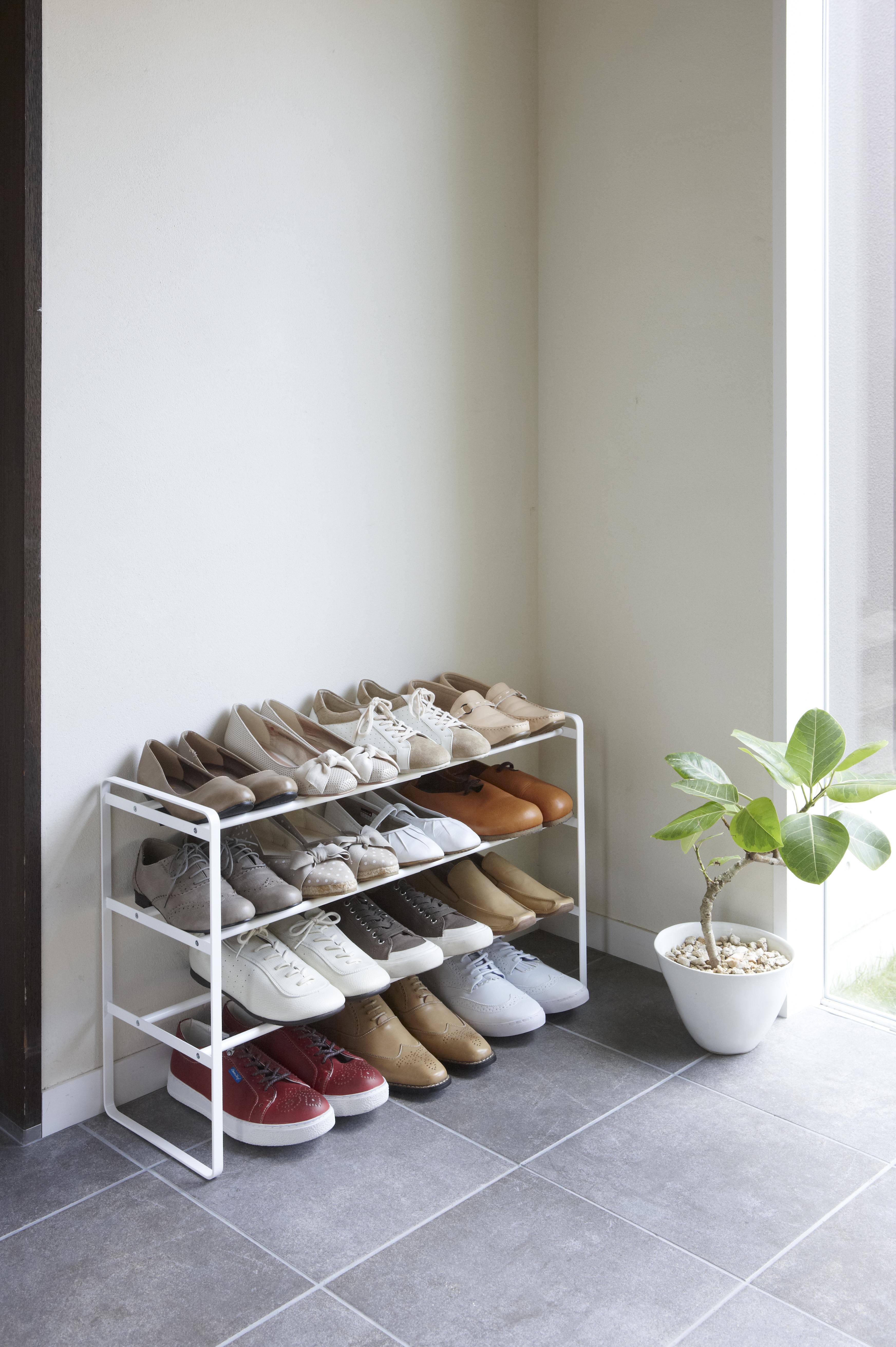 числе этапов полочка для обуви в прихожую фото причудливой формы