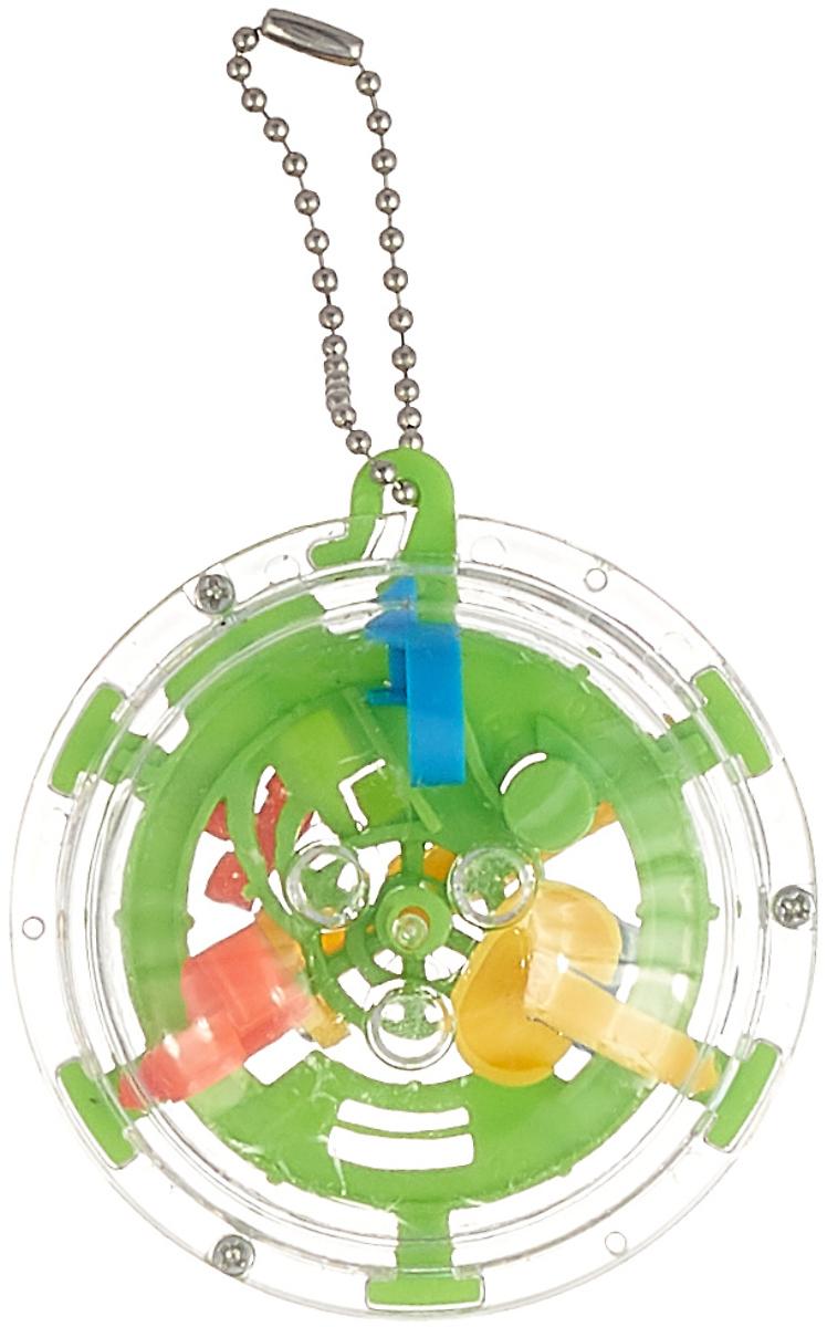 Брелок ABtoys Интеллектуальный 3D-шар, PT-00789, зеленыйPT-00789