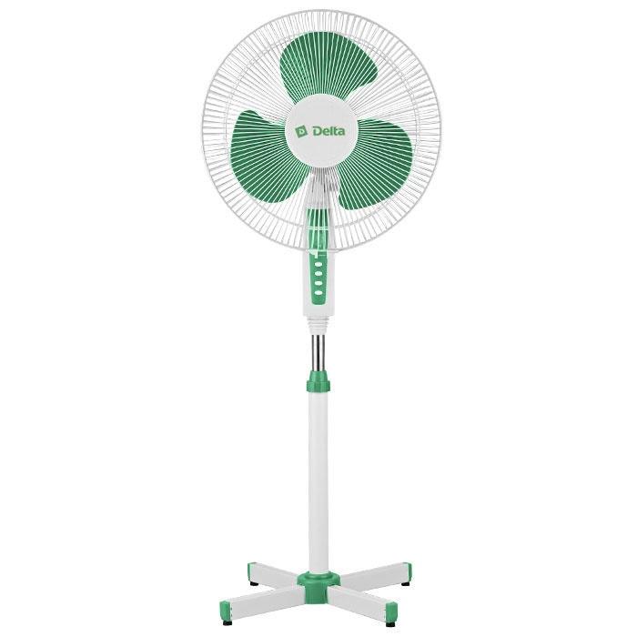 Напольный вентилятор Delta DL-020N, белый зеленый вентилятор delta dl 020n белый зеленый