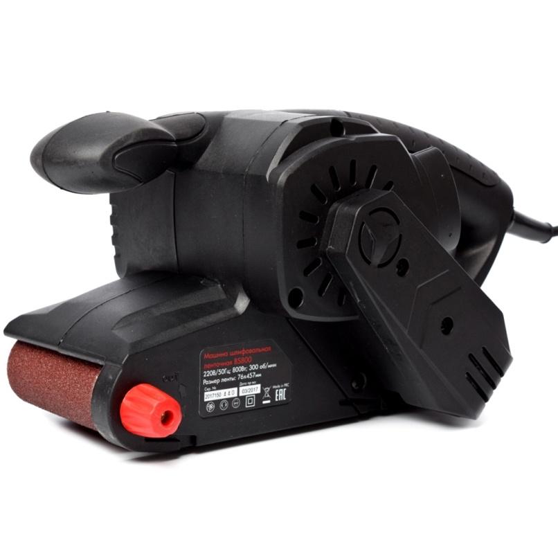 Шлифмашина ленточная RedVerg BASIC BS800 grinding machines belt redverg basic bs800