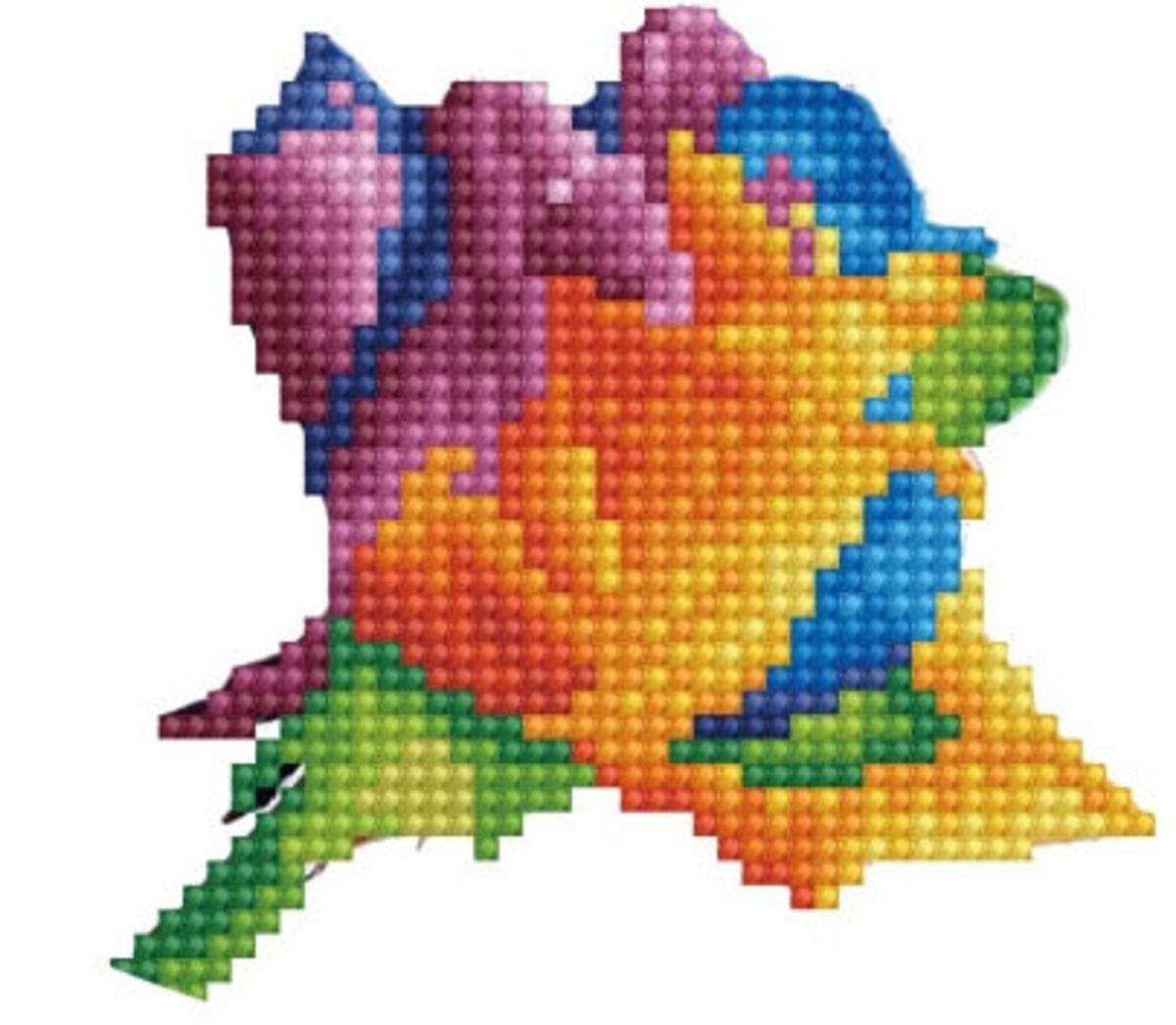 Набор для вышивания ТМ Цветной V16