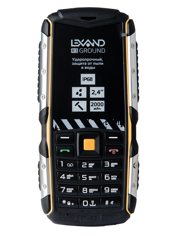 Мобильный телефон Lexand R3 Ground, черный
