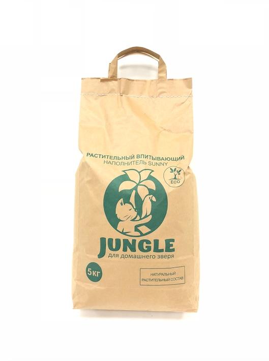 Наполнительрастительный Sunny 5 кг, черныйНФ-00000070Впитывающий растительный наполнитель для кошачьих туалетов Jungle Sunny (Джангл Санни) – новинка в линейке экологически чистых наполнителей Jungle. Наполнитель эффективно впитывает влагу и устраняет запахи. В составе гранул из лузги подсолнечника нет химических веществ, спор растений, семян, вызывающих аллергические реакции.Jungle (Джангл) Sunny экономно расходуется, хорошо распределяется по лотку и легко заменяется. Среди очевидных достоинств данного наполнителя также можно выделить приятную цену и натуральность, а еще такие наполнители являются гипоаллергенными.100% натуральное сырье;Хорошо впитывает влагу и запахи;Не липнет к лапкам и не разносится по дому;Экономичен в использовании.Кроме натурального состава хочется отметить ориентированность производителя Jungle (Джангл) на заботу не только о животных и их хозяевах, но и об окружающей среде. Именно поэтому наполнители расфасованы в биологически разлагаемые бумажные эко-пакеты.