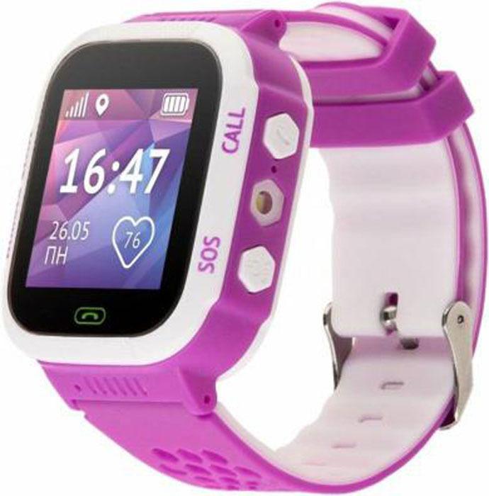 Умные часы Кнопка жизни Aimoto Sport, фиолетовый