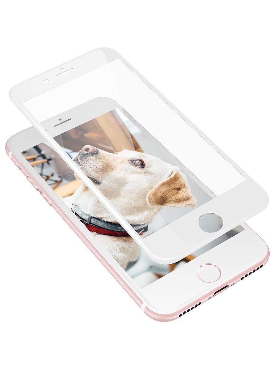 Защитное стекло UVOO Full screen для Apple iPhone 7/8, белый
