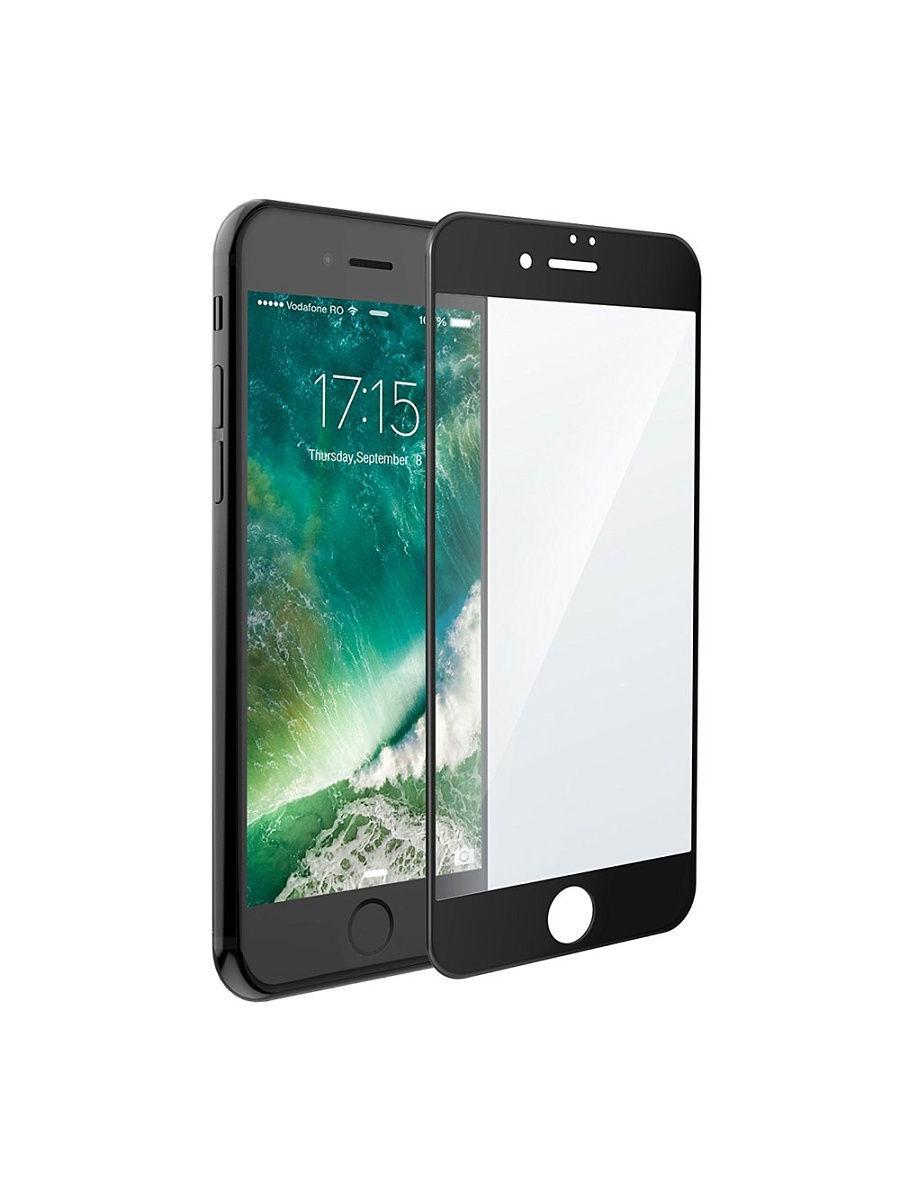 Защитное стекло UVOO Full screen для Apple iPhone 7/8, черный