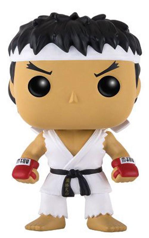 Фигурка Funko POP! Vinyl Games: Street Fighter: Ryu White Headband (Exc)