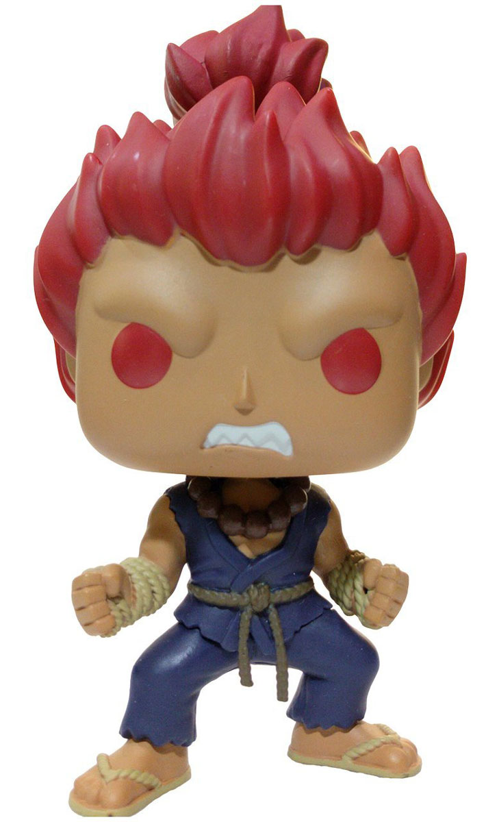 Фигурка Funko POP! Vinyl Games: Street Fighter: Akuma (Exc)