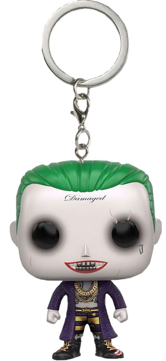 Брелок для ключей Funko Pocket POP! Suicide Squad: Joker