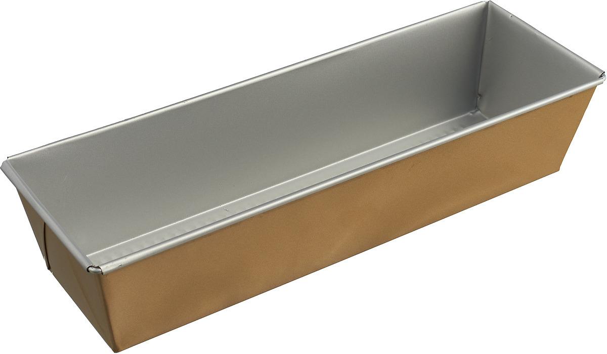 Форма для выпечки Доляна Джоанна Хлеб, 2594971, с антипригарным покрытием, 35 х 11,6 х 7,6 см форма для выпечки доляна мишка 1151891 с антипригарным покрытием 12 ячеек 35 х 27 х 2 5 см