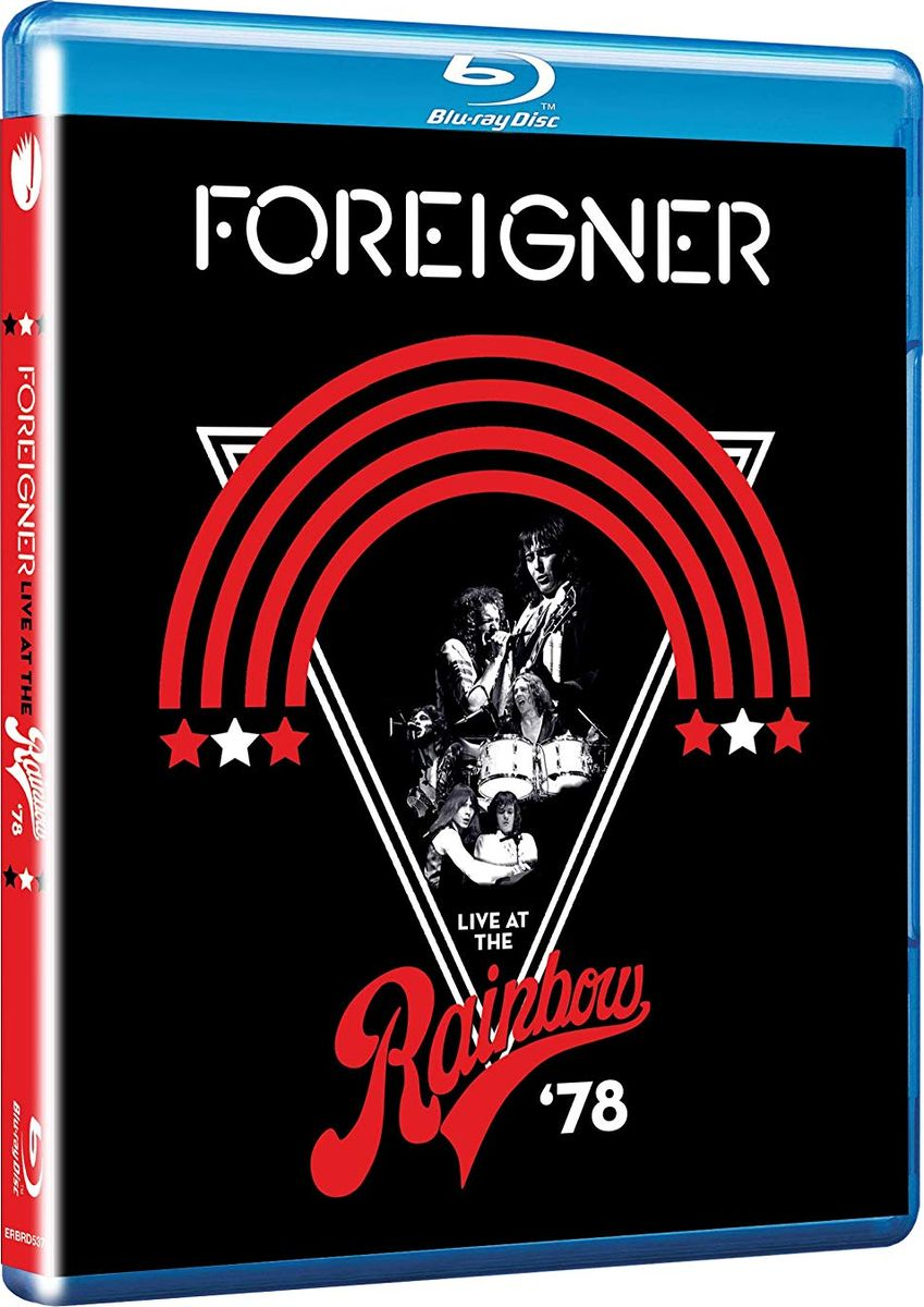 Фото - Foreigner Foreigner. Live At The Rainbow '78 (Blu-ray) dream theater live at luna park blu ray
