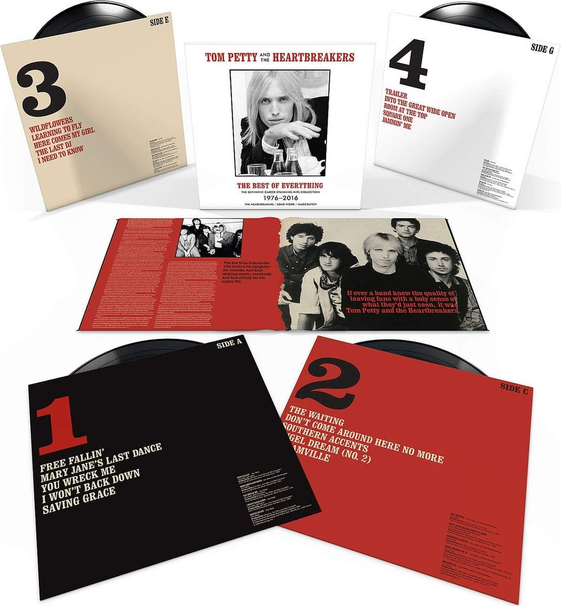 Tom Petty And The Heartbreakers Tom Petty And The Heartbreakers. The Best Of Everything (4 LP) том петти tom petty damn the torpedoes lp