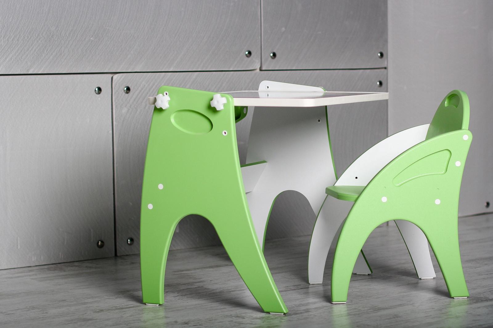 Набор детской мебели Интехпроект ТРАНСФОРМЕР, салатовый набор детской мебели интехпроект трансформер розовый