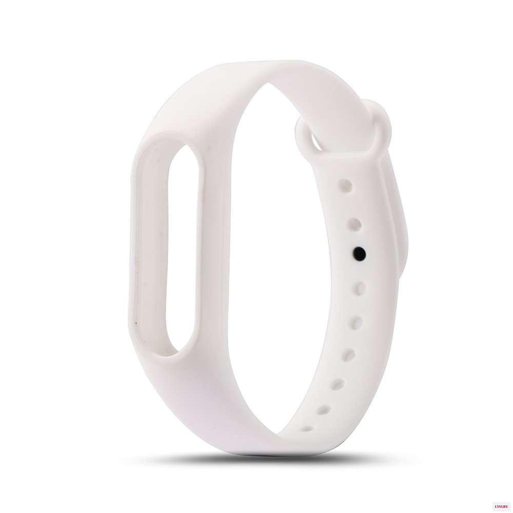 Ремешок для фитнес-браслета Xiaomi Mi2white, белый цены онлайн