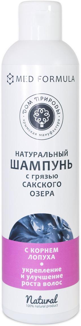 Шампунь для волос Мануфактура Дом Природы, с грязью Сакского озера, с корнем лопуха, 250 г недорго, оригинальная цена
