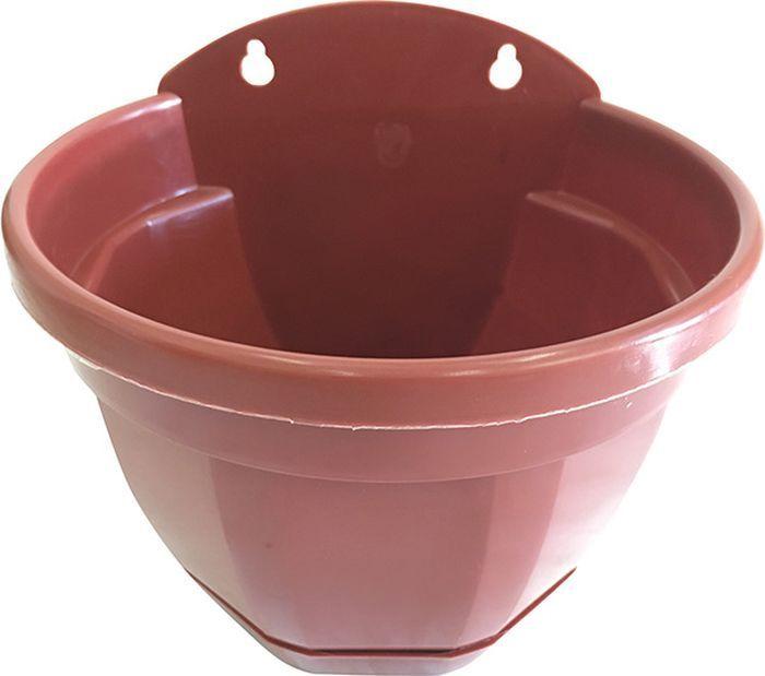 цена на Кашпо Инстар Ника настенное, ИНС 103, терракотовый, диаметр 20 см