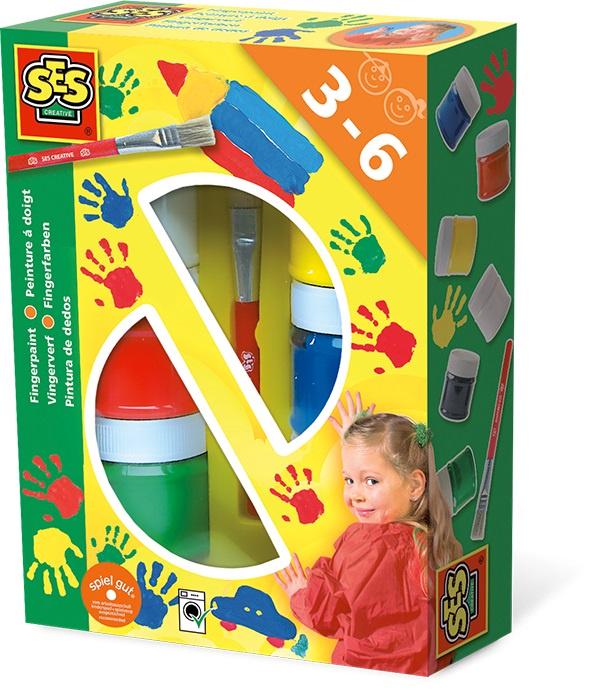 цена на Гуашь SES creative Пальчиковые краски 00306
