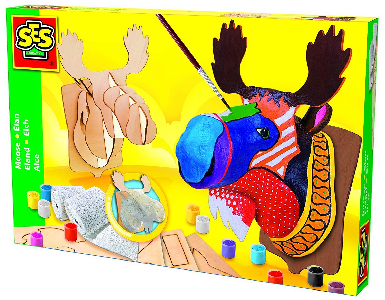 Развивающая игрушка SES creative Набор для творчества Поделка Лось 14531