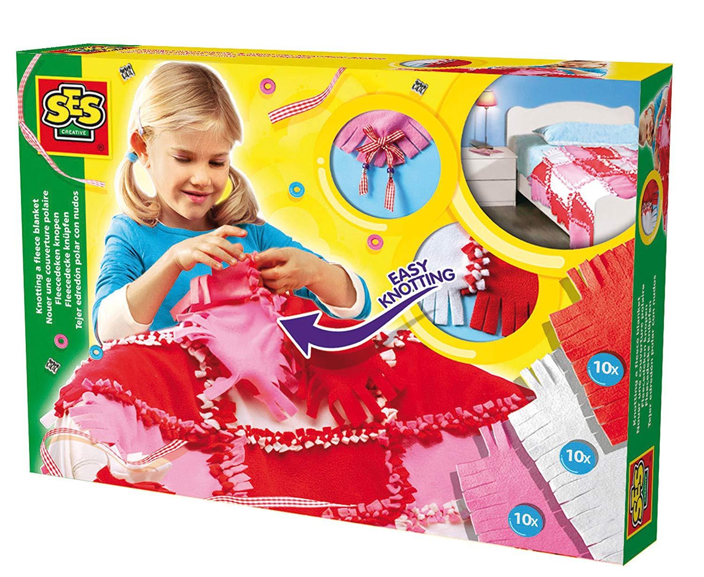 Развивающая игрушка SES creative Набор для творчества Сделай покрывало 14860