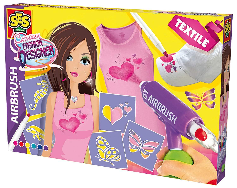 Развивающая игрушка SES creative Набор для творчества Дизайнер одежды 14876
