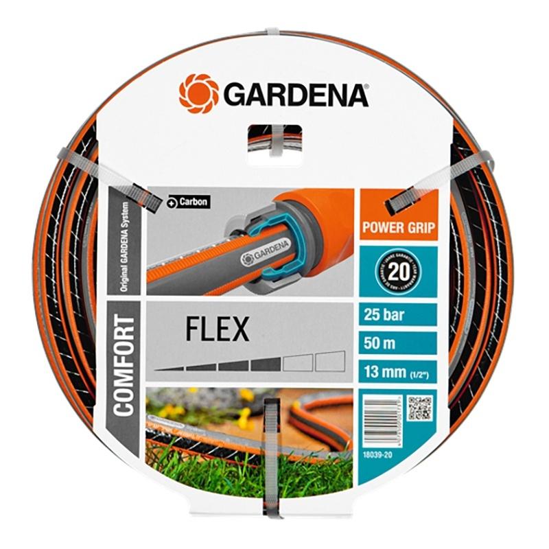 Шланг поливочный GARDENA 18039-20.000.00 шланг gardena flex 9x9 18039 20 000 00 1 2 50м