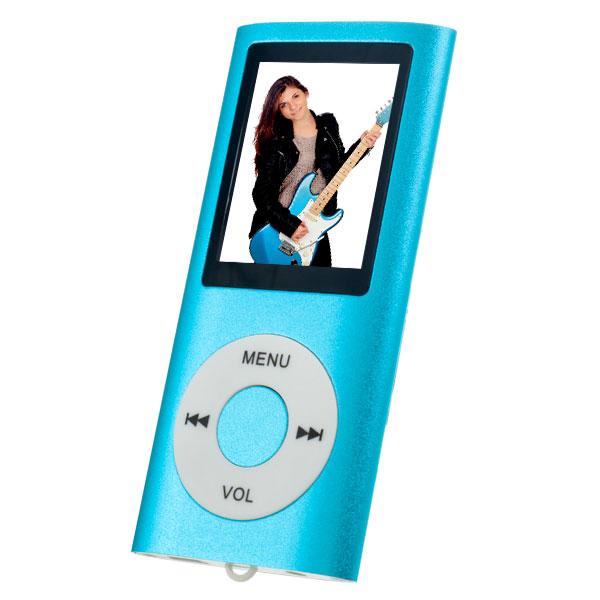 MP3 плеер Perfeo I-Sonic, голубой цена