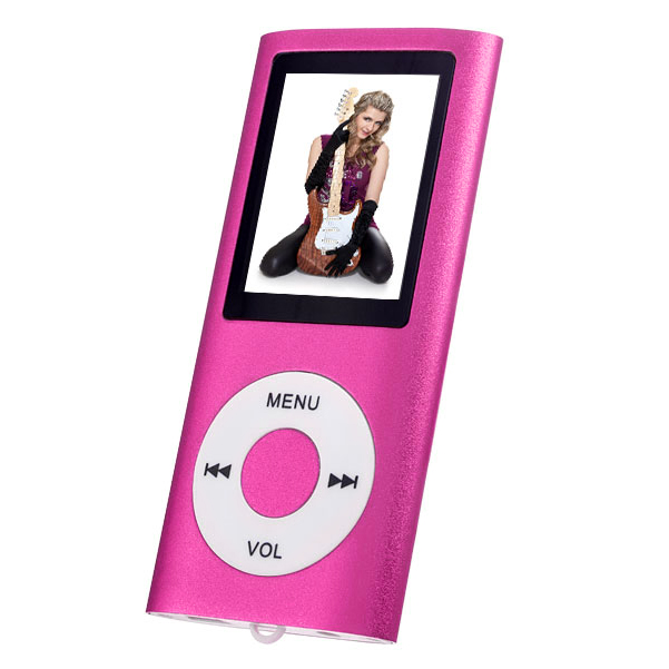 MP3плеер Perfeo I-Sonic, темно-розовый Perfeo