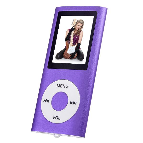 MP3плеер Perfeo I-Sonic, фиолетовый Perfeo