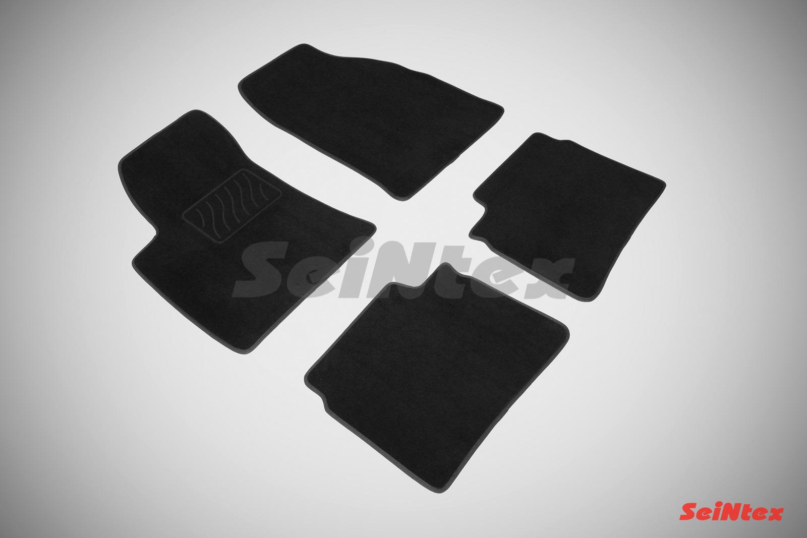 Коврики в салон автомобиля Seintex Ворсовые коврики LUX для Hyundai Sonata V 2004-2010 недорго, оригинальная цена