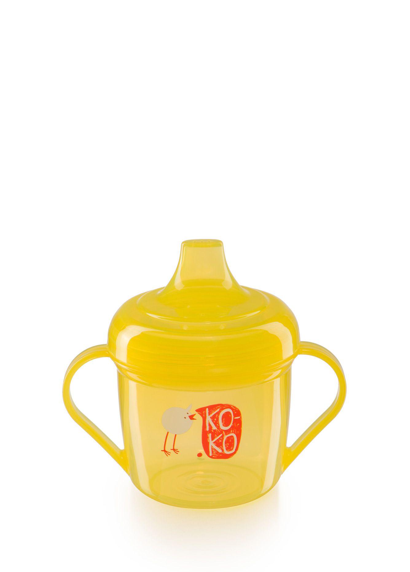 Поильник Happy Baby 14001 желтый