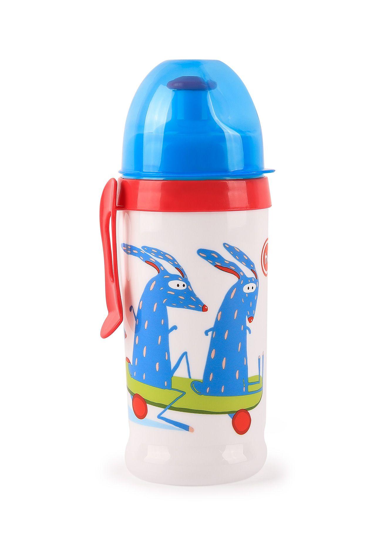 Поильник Happy Baby 14014 голубой
