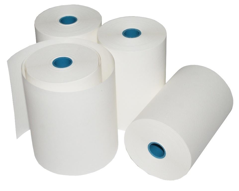 Чековая лента термочувствительная Lux-Paper для терминалов 80 мм, 80х25 (80-25-120-Т)
