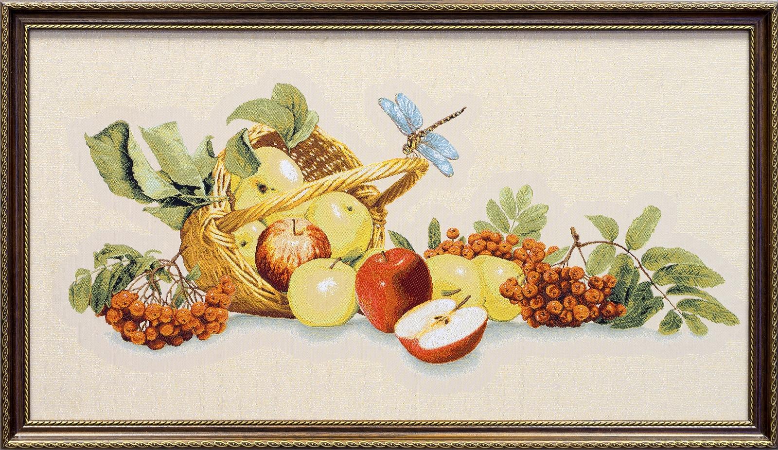 Картина Магазин гобеленов натюрморт с фруктами 39*62 см, Гобелен