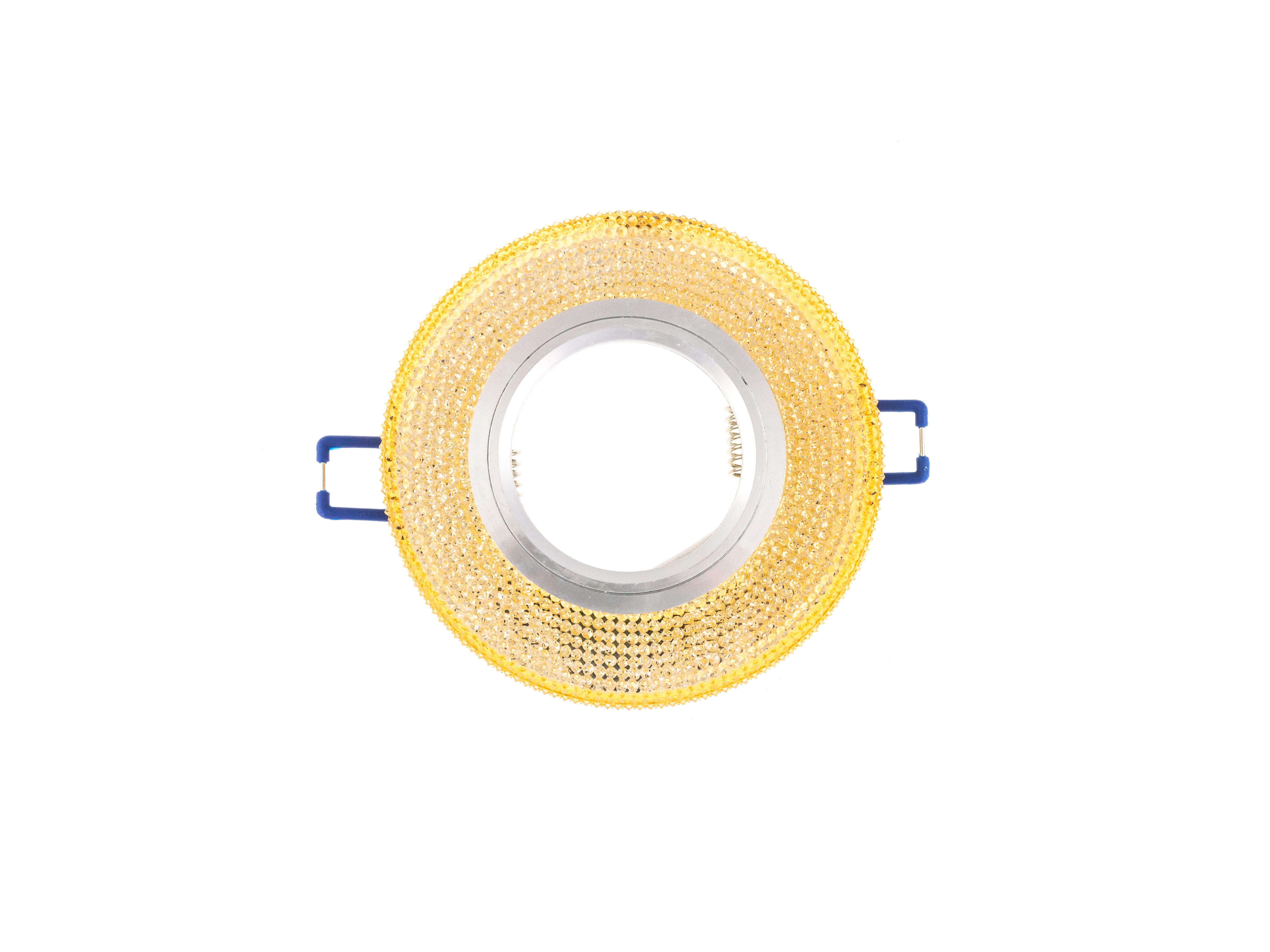 Встраиваемый светильник Lumin'arte PL10-DLL50GU.53-3W, серебристый mr16 3w 3 led red light bulb 12v