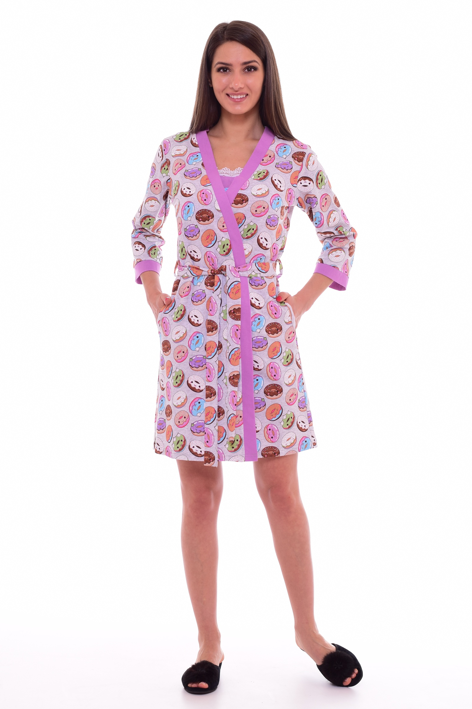 Домашний комплект Новое кимоно домашний комплект женский sevim топ шорты цвет кремовый 10281 sv размер l 44 46