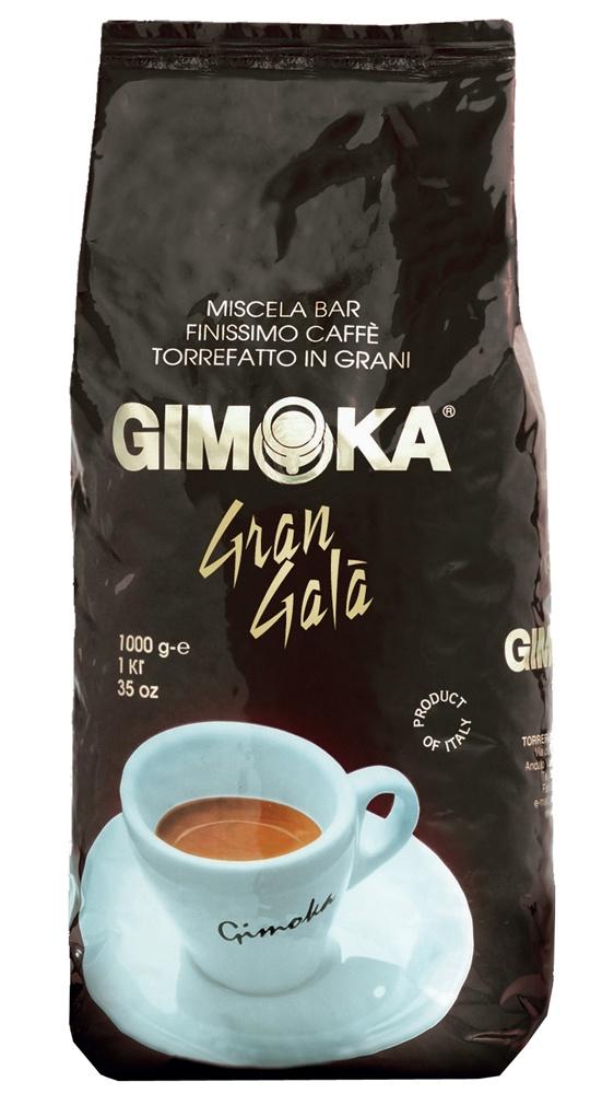 Кофе в зернах Gimoka NERO GRAN GALA, 10008003012100005Изящный кофейный напиток Gimoka Gran Gala наверняка поразит Вас своим составом в 40% Арабики и 60% Робусты, подарит бодрости и хорошего настроения на целый день. Кофе имеет насыщенный плотный вкус и легкими оттенками шоколада в послевкусии. А благодаря средней степени обжарки кофейных зерен Ваш напиток будет невероятно ароматным.