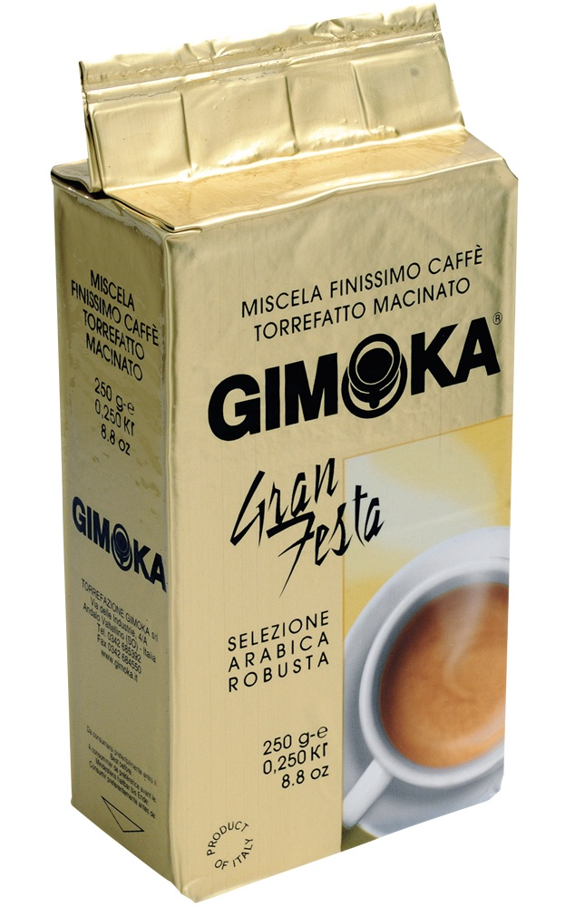 Кофе молотый Gimoka Gran Festa, 250 гр стоимость