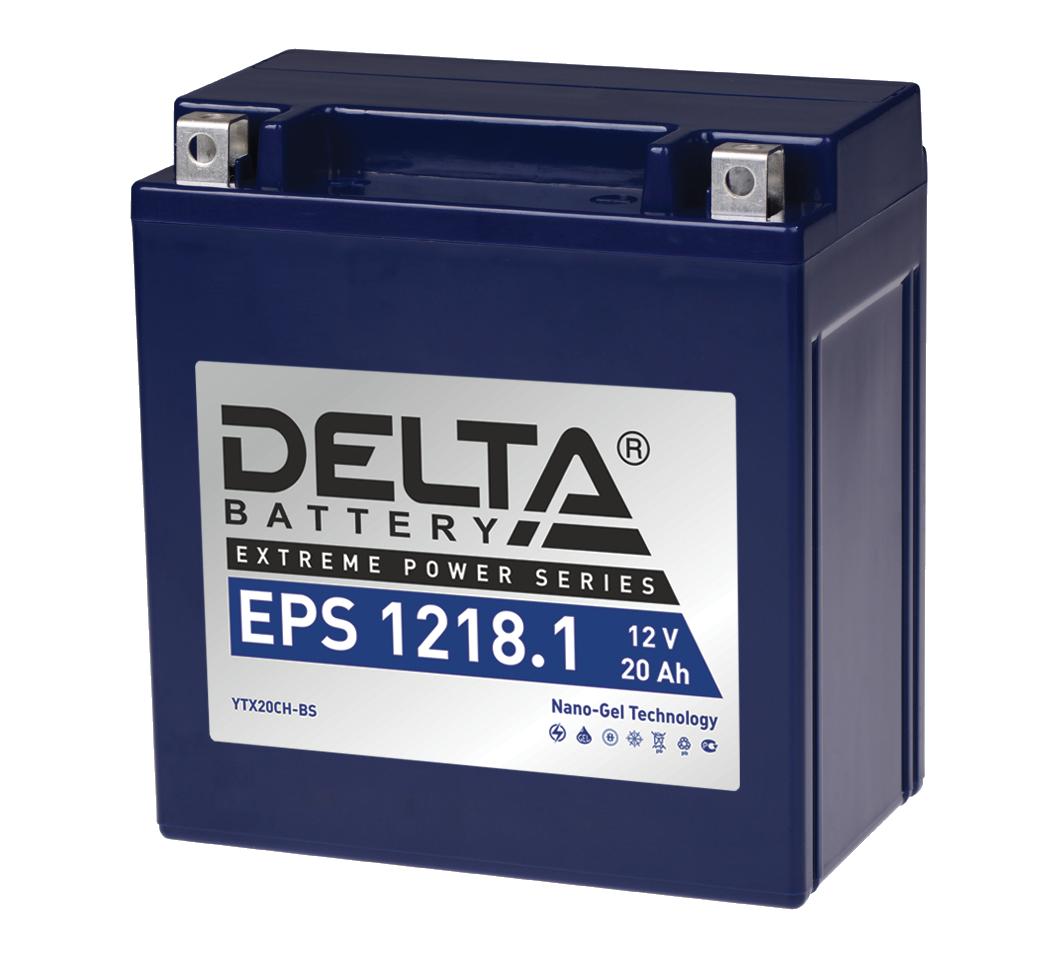 Аккумулятор для мототехники Delta EPS 1218.1 цена