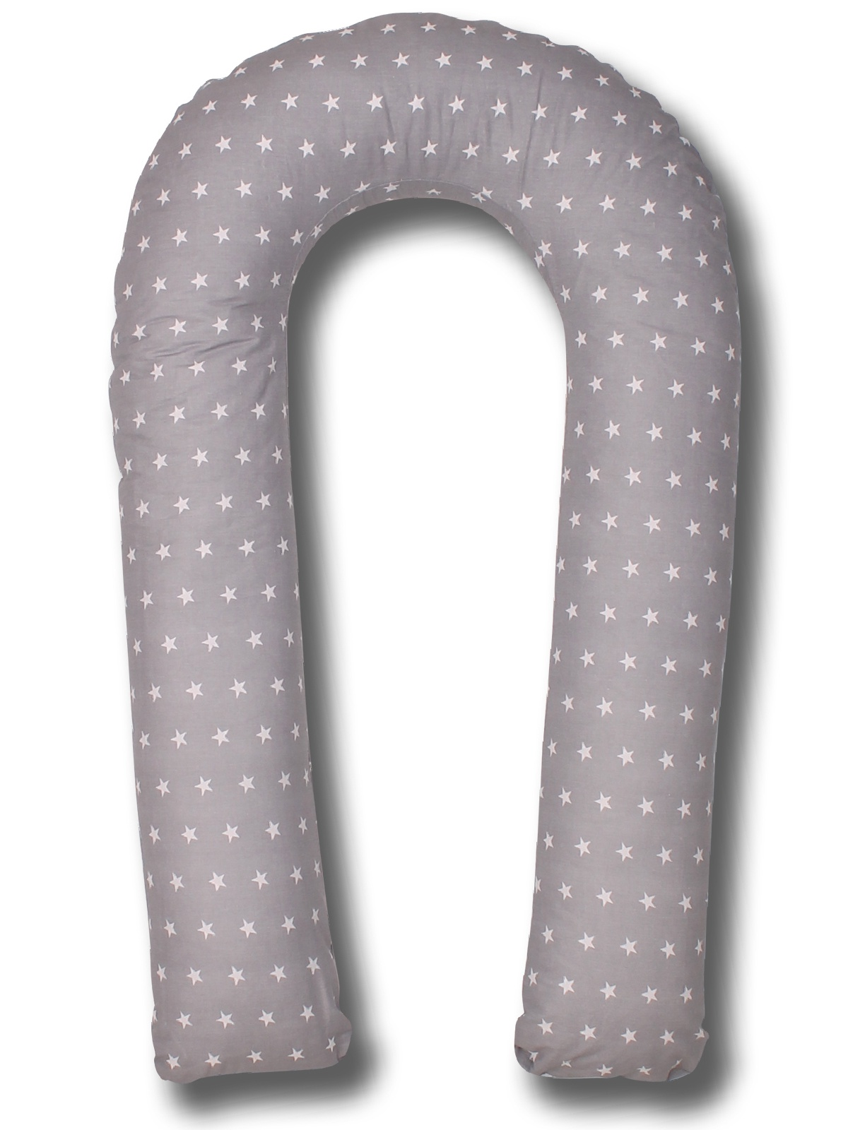 Чехол для подушки для беременных Body Pillow форма U звезды, серый body pillow чехол для подушки для беременных u образный цвет бежевый золотой