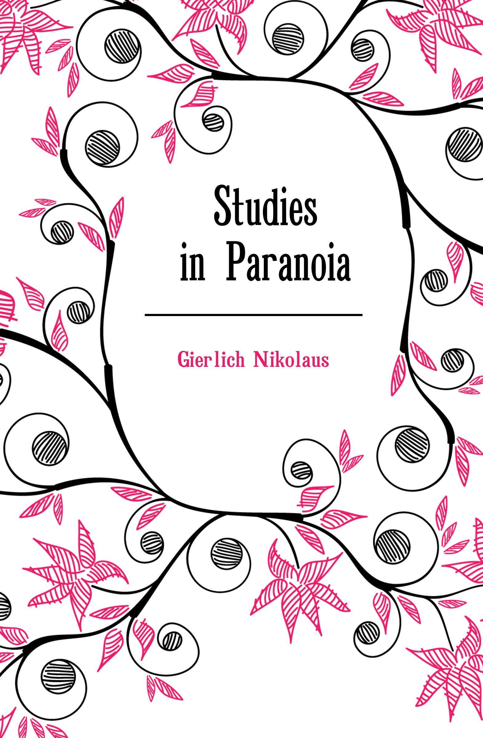 цена Gierlich Nikolaus Studies in Paranoia онлайн в 2017 году